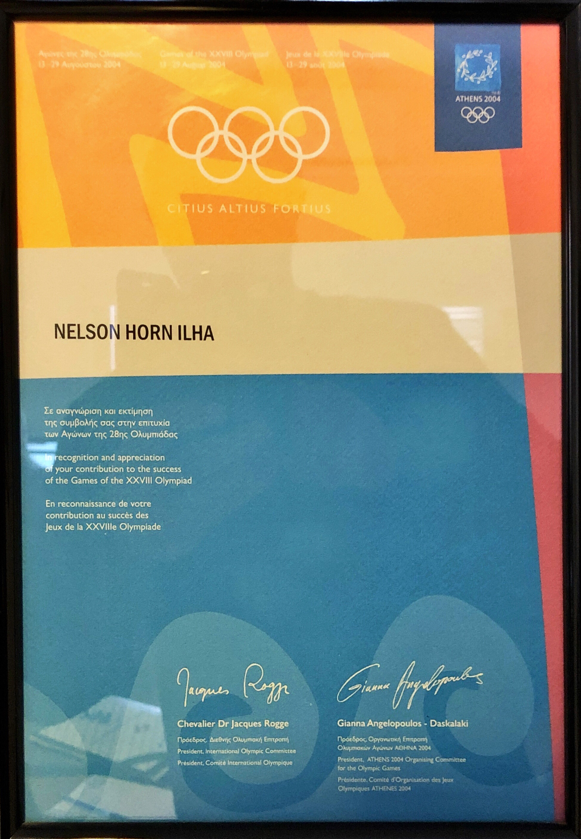 Athens Olympic Games